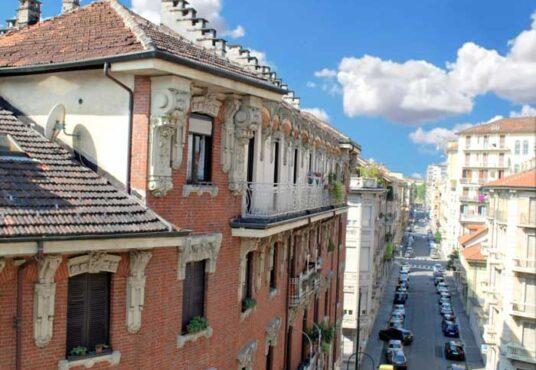 Appartamento via Peyron piano alto