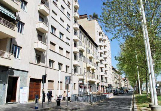 facciata appartamento vendita torino corso inghilterra panoramico