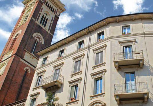 facciata appartamento vendita torino