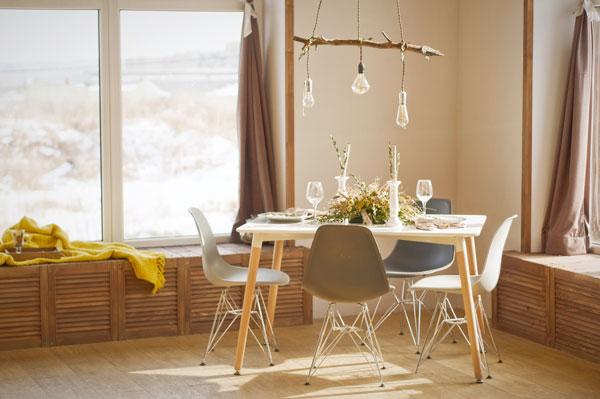 Come illuminare la sala da pranzo