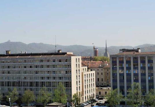 appartamento vendita torino corso inghilterra vista panoramica