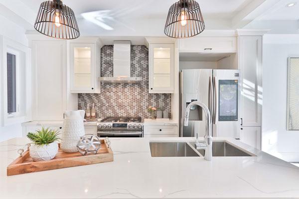 illuminazione domestica della cucina