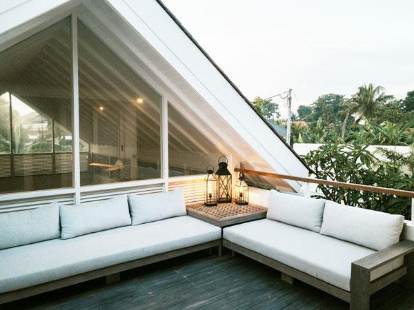 organizzare il terrazzo del tuo attico