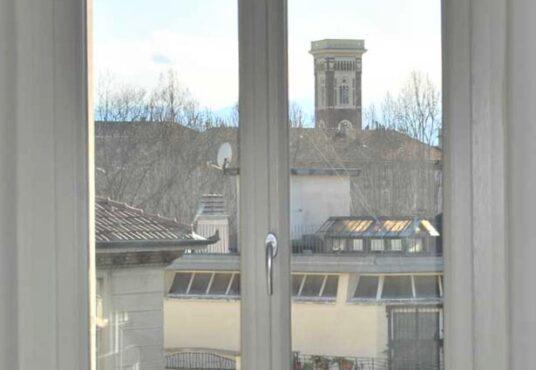 torino largo cibrario appartamento con vista panoramica