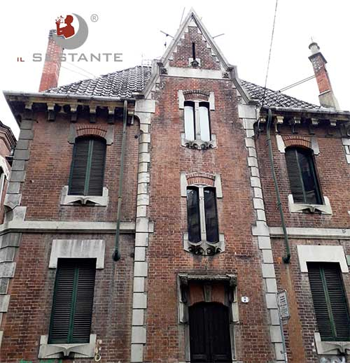 Stile neogotico Via Piffetti 7 Torino