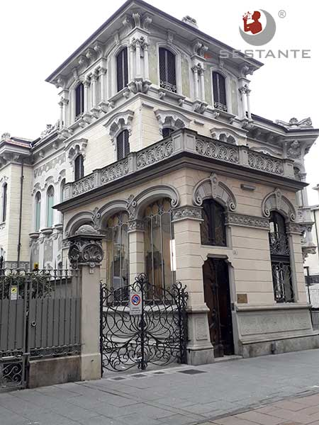 Cit Turin Villino Raby Corso Francia Torino